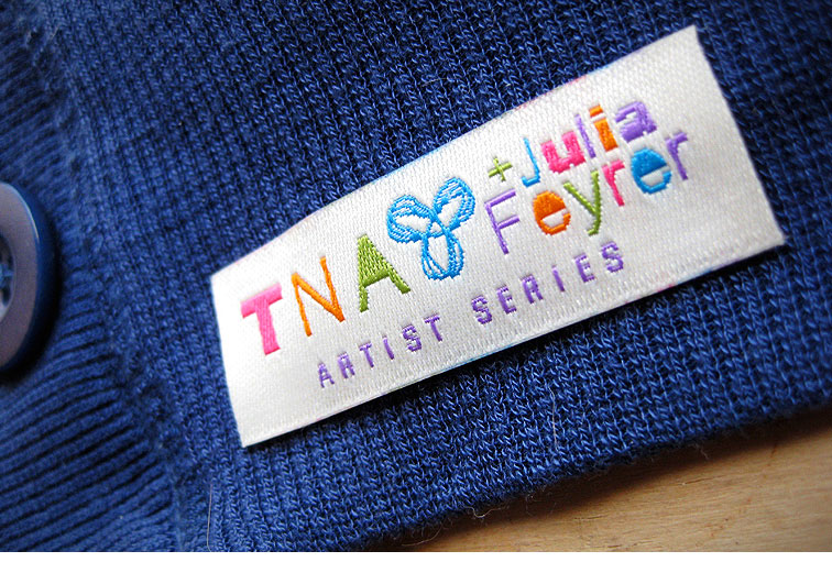 Aritzia - TNA Artist Series Label